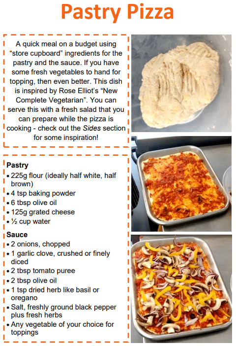 pastry pizza recipe