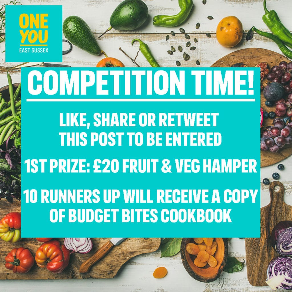 competition time fruit and veg