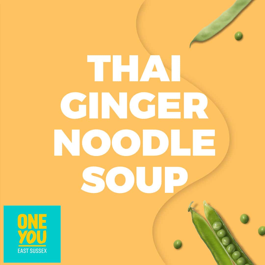 thai ginger noodle soup