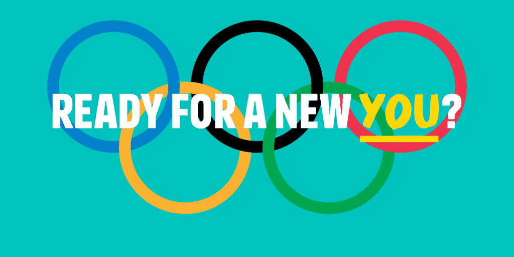 olympics logo ready for a new you